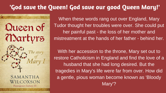 'God save the Queen! God save our good Queen Mary!'When these words rang out over England, Mary Tudor thought her troubles were over. She could put her painful past - the loss of her mot