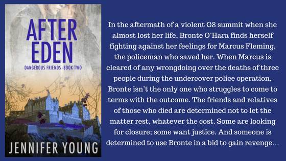 In the aftermath of a violent G8 summit when she almost lost her life, Bronte O_Hara finds herself fighting against her feelings for Marcus Fleming, the policeman who saved her. When M